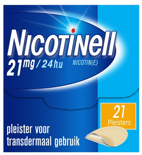 Nicotinell 21mg / 24h 21 patchs | Arrêter de fumer