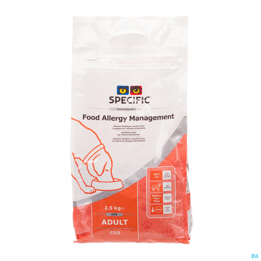 Specific Cdd Food Allergy Management 2,5kg