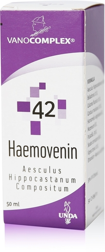 Vanocomplex N42 Haemovenin Gouttes 50ml Unda | Coeur - Circulation