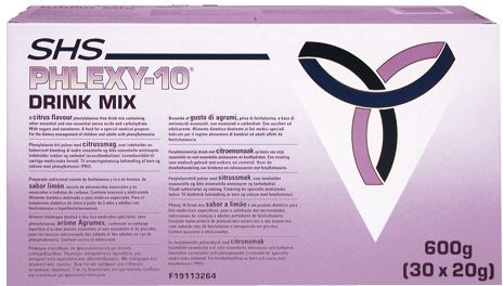 Phlexy 10 Drink Mix Cassis-pomme 30x20g