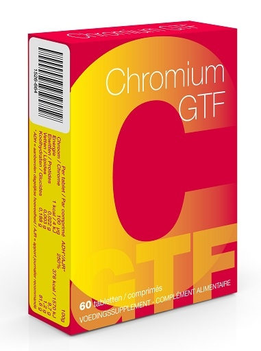 Chromium GTF 60 Comprimés | Chrome