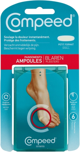 Compeed Pansement Ampoules Small 6 | Ampoules