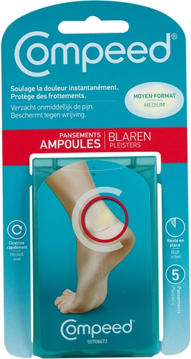 Compeed Pansement Ampoules Medium 5 | Ampoules