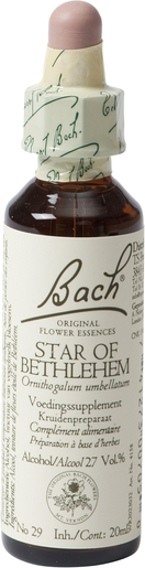 Bach Flower Remedie 29 Star Bethlehem 20ml | Abattement - Désespoir