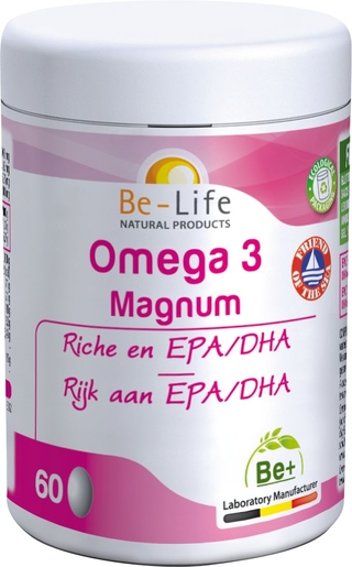 Be-Life Omega 3 Magnum 60 Gélules | Circulation