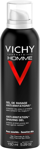 Vichy Homme Gel De Rasage Anti Irritation 150ml | Rasage