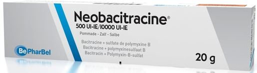 Neobacitracine Pommade 20g | Désinfectants - Anti infectieux