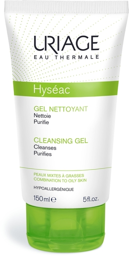 Uriage Hyseac Gel Nettoyant Doux 150ml | Acné - Imperfections