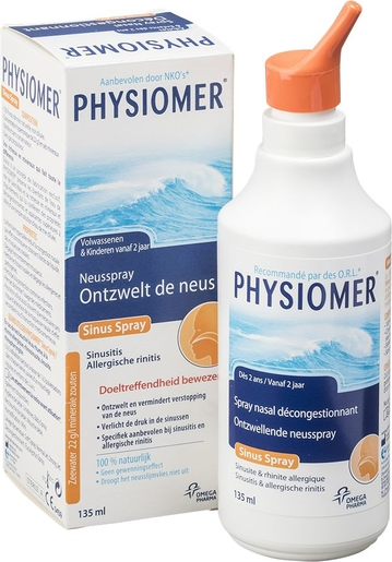 Physiomer Sinus Spray Nasal Décongestionnant 135ml | Promotions