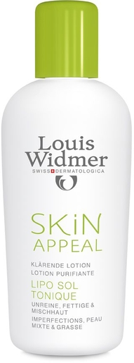 Widmer Skin Appeal Lipo Sol Lotion Sans Parfum 150ml | Acné - Imperfections
