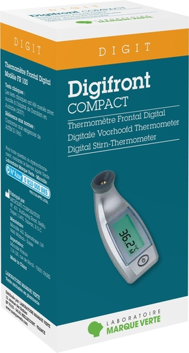 Marque Verte Digifront Compact Thermomètre Frontal | Thermomètres