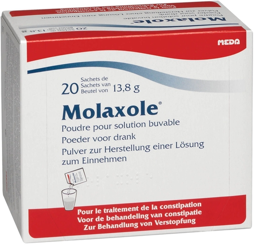 Molaxole 20 Sachets x13,8g | Constipation