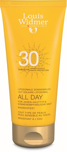 Widmer Sun All Day IP30 Avec Parfum 200ml | Protection solaire