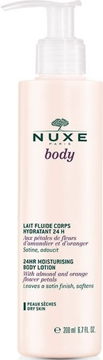 Nuxe Body Lait Fluide Corps Hydratant 24h 200ml | Hydratation - Nutrition