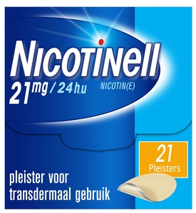Nicotinell 21mg / 24h 21 patchs