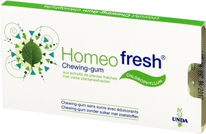 Homeofresh Chewing-Gum Plantes Fraiches Sans Sucre 1 x 12