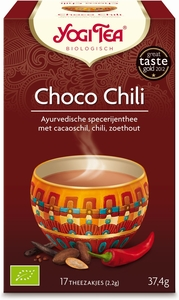 Yogi Tea Infusion Choco Chili Bio 17 Sachets
