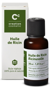 Creation Cosmetic Huile de Ricin 30ml