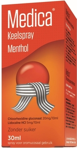 Medica Spray Menthol 30ml