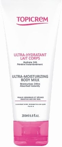 Topicrem Ultra Hydratant Lait Corps 200ml
