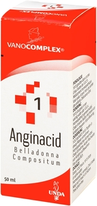 Vanocomplex N 1 Anginacid Gouttes 50ml Unda