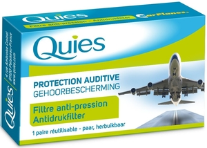 Quies Protection Auditive Earplanes 1 Paire