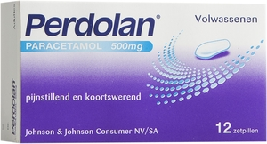 Perdolan Adultes 500mg 12 Suppositoires