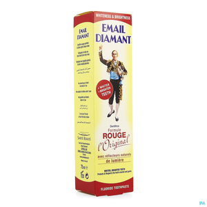 Email Diamant Dentifrice Rouge 75ml