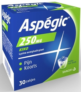Aspegic 250mg Enfant 30 Sachets