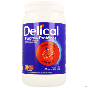 Delical Proteines Pdr 500g Nf