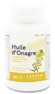 Leppin Huile Onagre 500mg 30 Capsules
