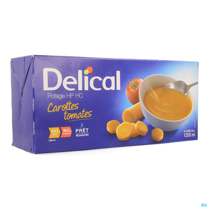 Delical Potage Hphc Carrotte Tomate 4x300ml