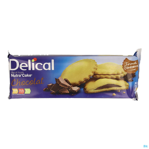 Delical Nutra Cake Chocolat 3x3