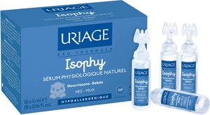Uriage Isophy Sérum Physiologique Naturel Unidose 18x5ml
