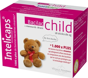 Bacilac Child (Infantis) 16 Sticks