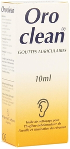 Oroclean Gouttes Auriculaires Nettoyantes 10ml