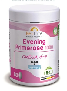 Be-Life Evening Primrose 1000 Bio 60 Gélules