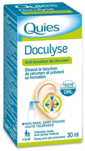 Quies Doculyse Solution Auriculaire Spray 30ml