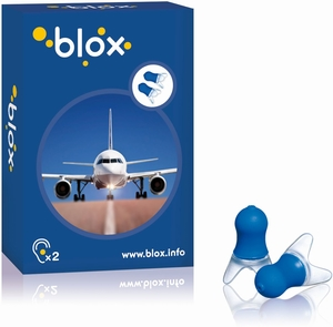 Blox Avion 1 Paire Protection Auditive Anti-Pression