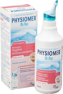 Physiomer Baby Spray Nasal Hygiène Nasale Prévention Active 135ml