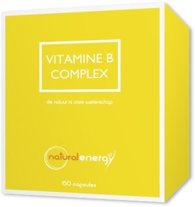 Vitamine B Complex Natural Energy 60 Capsules