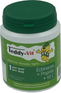 Teddy Vit (Echinacea+Propolis+Vitamine C) 50 Gommes Format Ours