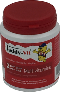 Teddy Vit Multivitamine 50 Gommes Ours