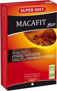 Super Diet Macafit Bio 20 Ampoules x 15ml