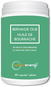 Huile Bourrache Natural Energy 90 Capsules