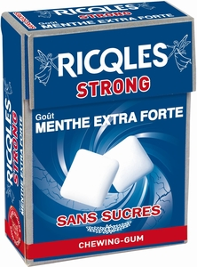 Ricqlès Chewing Gum Strong 24g