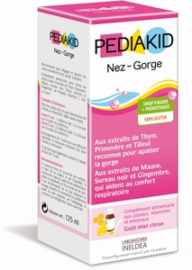 Pediakid Nez-Gorge Sirop 125ml