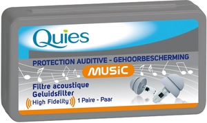 Quies Protection Auditive Music (1 Paire)