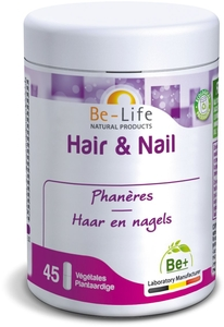 Be-Life Hair & Nail 45 Gélules