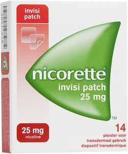 Nicorette Invisi Patch 25mg 14 Patches